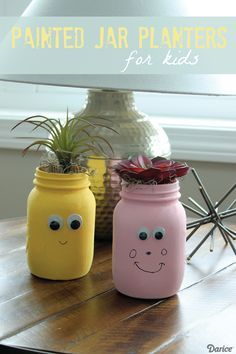 Kid's Glass Jar Plan