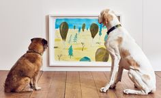 British inventor Dominic Wilcox is proving that art isn't just for humans with a new contemporary exhibition for our canine friends. Play More consists of a series of interactive art installations, all...