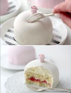 Swedish princess cakes 21 no bake desserts that are as easy as they are delicious Zumbo's Just Desserts, Fancy Desserts, Delicious Desserts, Gourmet Desserts, White Desserts, Baking Desserts, British Baking Show Recipes, Baking Recipes, Cake Recipes