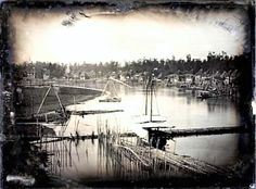 The Oldest Known Photos of the Philippines Ever Taken. Photo below shows Rio De Pagsanjan in Laguna. © George Eastman House/Hispanic Society of America. Eastman House, Historical Pictures, Manila, Niagara Falls, Philippines, Rio, Nostalgia, Old Things, America
