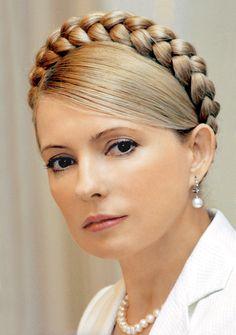 Yulia Tymoshenko, former Prime Minister of Ukraine