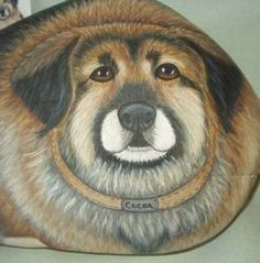 Pet Memorials - Your Pet Painted On a Rock or Stone
