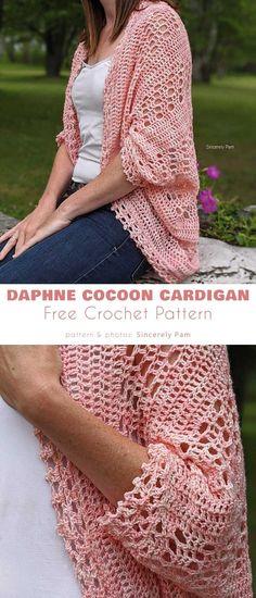 Crochet Woman, Knit Or Crochet, Crochet Scarves, Crochet Crafts, Crochet Clothes, Free Crochet, Crochet Shrugs, Crochet Sweaters, Crochet Tops