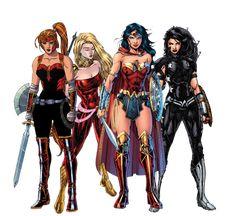 DC Families: Amazons