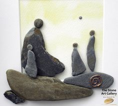 Pebble Art: Pebbles from the Inishowen Coastline.  Facebook: The Stone Art Gallery www.thestoneartgallery.com Picture Wire, Pebble Pictures, Stone Crafts, Pebble Art, Stone Art, Resin Jewelry, Sticks, Art Gallery, Diy Projects