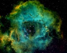 The Rosette nebula, also known as NGC 2237 or Caldwell 49, taken from Waukesha, Wisc., on Jan. 6, 2014. (Dennis Roscoe, Ph.D.)
