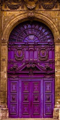 Marais Quarter Church Doors Paris France.......