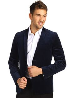 Velvet blazer from Ben Sherman? Yes, please. #zappos