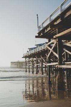 Crystal Pier, Pacific Beach.