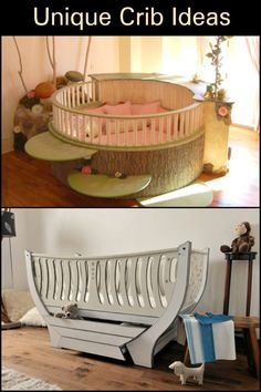 Make your baby's bed even more special with these unique crib and cradle ideas!