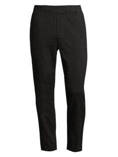J Brand Spadium Low-rise Joggers In Black Joggers, Sweatpants, Welt Pocket, Saks Fifth Avenue, J Brand, Sporty, Mens Fashion, Denim, Cotton
