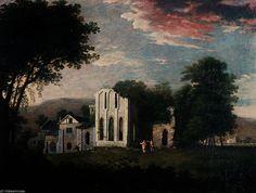 Valle Crucis abbaye de Richard Wilson