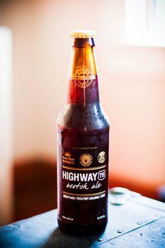 Highway Scotch Ale ... looks interesting.