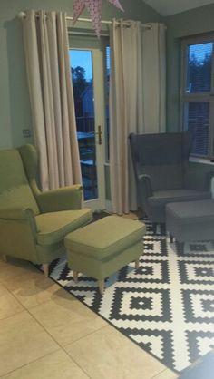 Strandmon chairs ikea