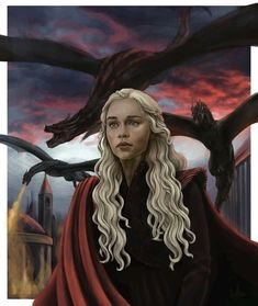 Mother of Dragons . Credit to artist – Mother of Dragons . Credit to artist – Daenerys Targaryen Art, Game Of Throne Daenerys, Deanerys Targaryen, Game Of Thrones Artwork, Game Of Thrones Fans, Game Of Thrones Dragons, Dragon Tattoo For Women, Dragon Tattoo Designs, Got Dragons