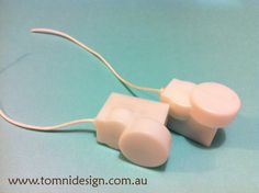 Shivering / shaking units that make toys SHAKE when you pull the string! Available from www.tomnidesign.com.au