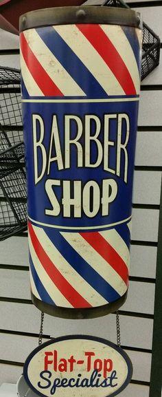 Barber Shop Flat Top Speicalist Tin Sign Man Cave Garage Women Home Decor