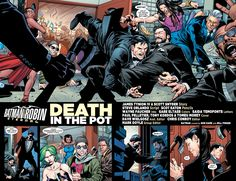 Batman and Robin Eternal 4. Dick Grayson. Bruce Wayne,
