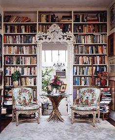 library fit for a princess the chairs are beautiful fabric the archways are high i love this