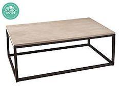 fabriquer 1 Table basse en fer/bois