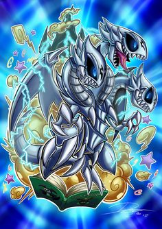 Blue Eyes Toon Ultimate Dragon by Kraus-Illustration on DeviantArt Resident Evil, Yugioh Dragon Cards, Custom Yugioh Cards, Comedy Cartoon, Yugioh Monsters, Ultimate Dragon, Pokemon, Anime Nerd, Monster Art