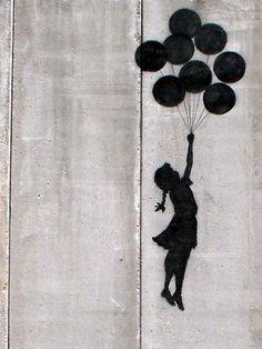 Banksy Balloon  jetzt im Juni Sale bei DaWanda!     Alle Leinwand Drucke versandfrei und bis 30% reduziert!
