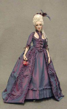 Marie Antoinette artist doll