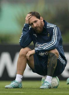 Messi #fearthebeard