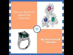 You imagine. We design. Check out Linara's Big Three Gemstone Collections.