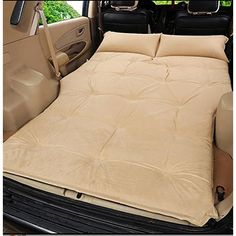 Cheap mattress car, Buy Quality car mattress directly from China car back Suppliers: Automatic Inflatable SUV Car Mattress Travel Camping Moisture-proof pad Car Back Seat Sleeping Rest Mattress Car Sex Bed Suv Camping, Tent Camping Beds, Camping Mattress, Air Mattress, Camping Hacks, Interior Accessories, Car Accessories, Outdoor Reisen, Monospace