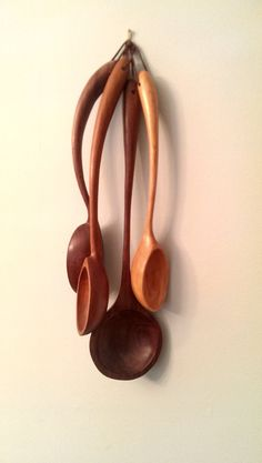 Hand carved spoon grab bag One price selected by SchwingWoodworks, $45.00