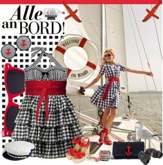 """""""Alle an BORD"""" by fashion-mariquita-camy ❤ liked on Polyvore"""
