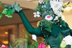 TEN31 Productions interprets flora and fauna at Flora in Winter 2012, Worcester Art Museum #WorcesterArt