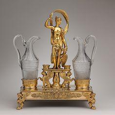 *Cruet frame (one of a pair)  Jean-Baptiste-Claude Odiot (1763–1850, master 1785)  Date: ca. 1817