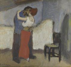 Пабло Пикассо. Свидание, 1900.