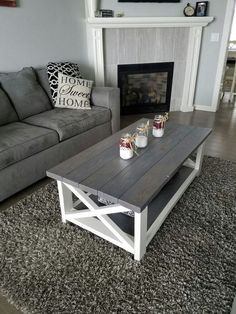 34 Perfect Diy Rustic Coffee Table Design Ideas And Remodel. If you are looking for Diy Rustic Coffee Table Design Ideas And Remodel, You come to the right place. Here are the Diy Rustic Coffee Table. Coffee Table Design, Rustic Coffee Tables, Diy Coffee Table, Decorating Coffee Tables, Diy Table, Country Coffee Table, Coffee Table With Storage, Coffee Table Decorations, Wood Table