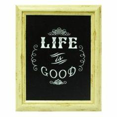 Framed ''Life is Good'' Wall Art
