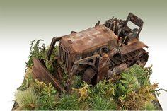 Komatsu Bulldozer - Relic - Armor - Modeling Subjects - Finescale Modeler Community