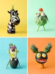 Do play with your food - edible art (can use googly eyes for less able carvers - but need to take care when eating!)