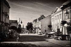 Ancient streets of Radom*