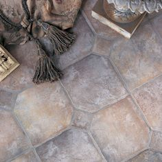 This is called .. French Quarter.  I like it!  by Daltile