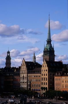 Gamla stan - The old town of Stockholm, Sweden