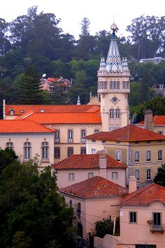 Sintra, Portugal. Travel in Portugal and learn fluent Portuguese with the Eurolingua Institute http://www.eurolingua.com/portuguese/portuguese-homestays-in-portugal