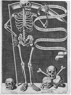 Palumbo, Pietro Paolo -  Horrida sum pravis - Gravure 1563-86