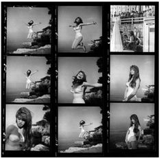 Philippe Halsman - Brigitte Bardot I Magnum Photos I 1955 Magnum Photos, Brigitte Bardot, Bridget Bardot, Terry Richardson, David Lachapelle, Steven Meisel, Portraits, Portrait Photographers, Magnum Contact Sheets