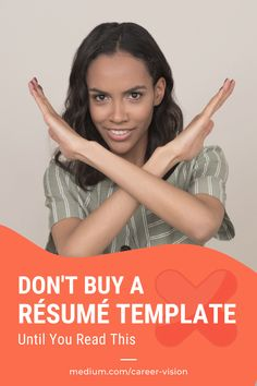 A good #resumetemplate can be an affordable option for #jobseekers who want to impress hiring managers with a custom-looking, eye-appealing design that stands out. But not all resume templates are equal and not choosing a good one could have a devastating impact on the success of your #jobsearch. Learn what to look for and what to #avoid when buying a resume template in this article. #resumetemplates #careeradvice #gethired #jobsearch #resumewriting Professional Resume Writers, Personal And Professional Development, Modern Resume Template, Resume Templates, Create A Resume, Perfect Resume, Dream Career, Cover Letters, Career Coach