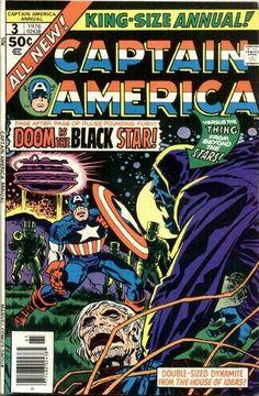 Captain America Annual # 3 (1976) by Jack Kirby & Frank Giacoia