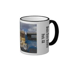 Bodie Gas Stop Mug from Florals by Fred #zazzle #gift #photogift