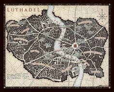 Mapa Luthadel