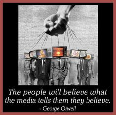 anti against mainstream media television tv distrust hate puppets control governement consumerism TSHIRT mens by carambaclothes on Etsy https://www.etsy.com/listing/191613476/anti-against-mainstream-media-television